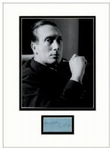 William Walton Autograph Signed Display